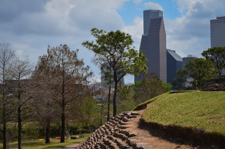 Buffalo Bayou Downtown Houston