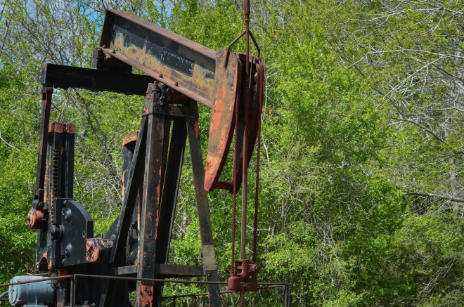 Oil Well front