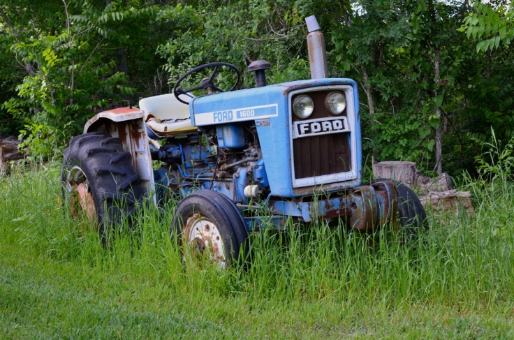 The Ford has given me over 30 years of tractor-butt therapy. It needs work now that approaches the cost of a new one. If it were a John Deere there would be no question about restoring it.