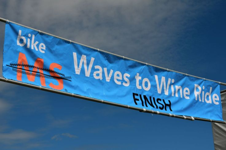 Waves to Wine Finish