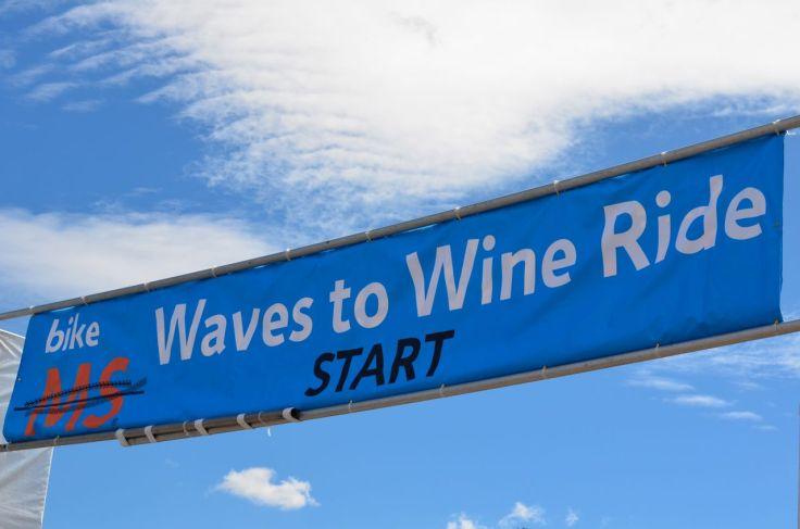 Waves to Wine Start