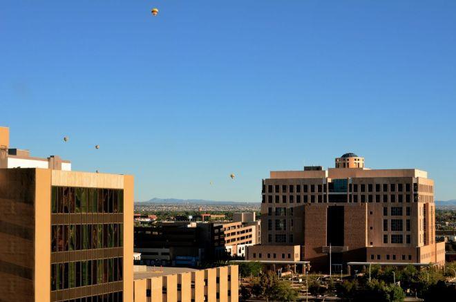 balloons over Albuquerque