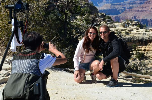Couple getting shot on South Rim
