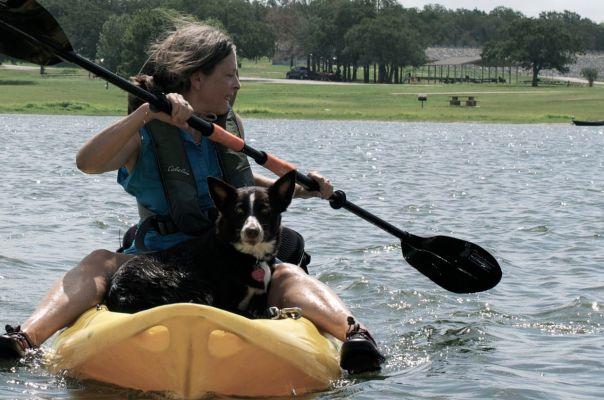 Kayaking with Bob on Somerville