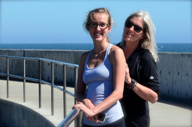 Molly y Sally in Santa Barbara Harbor
