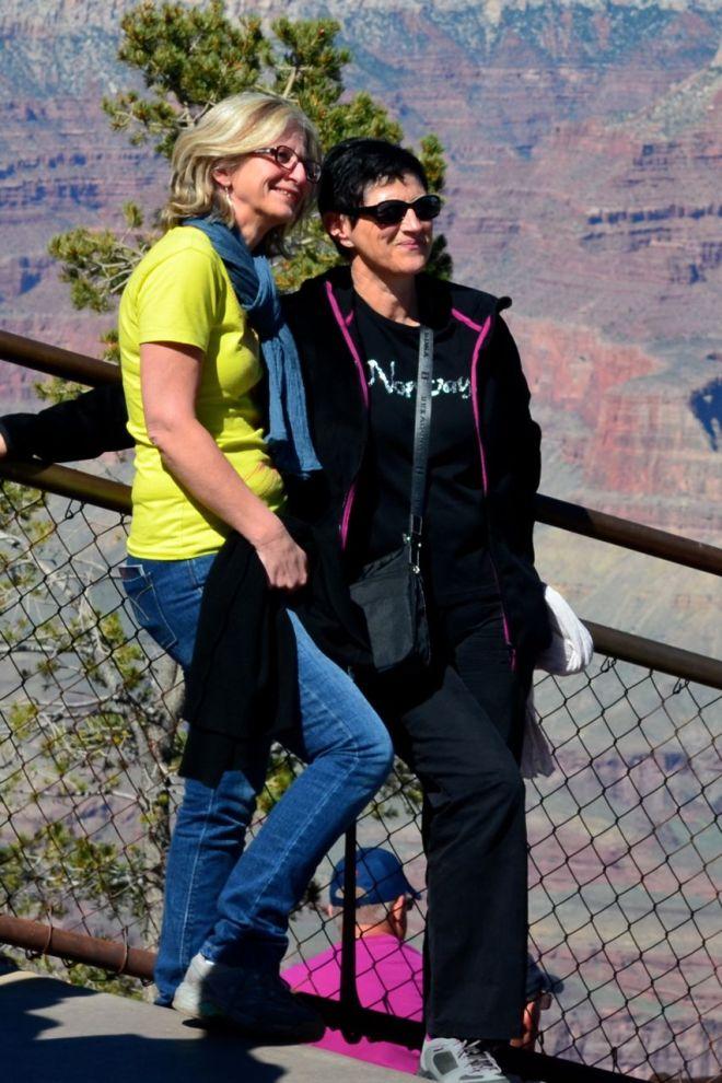older women posing South Rim