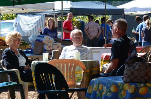 Posers galore St Helena Farmers Market
