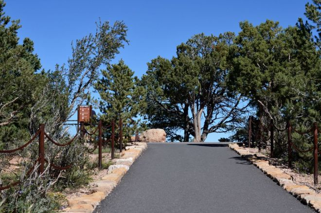 ramp to the south rim