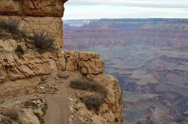 path on the edge