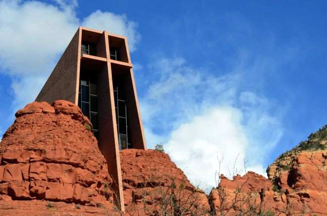 Chapel Of The Holy Cross - front