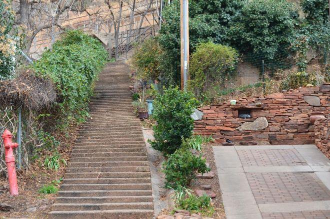 stairway to upper street