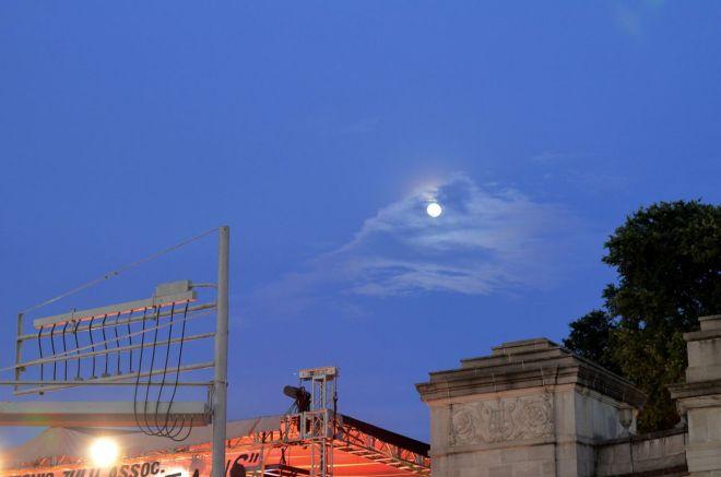 blood moon at Fiesta
