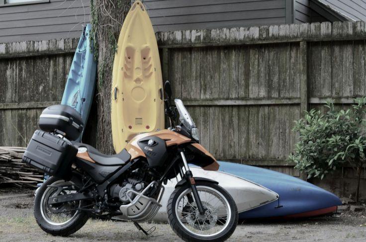 Crime Scene, 6 kayaks