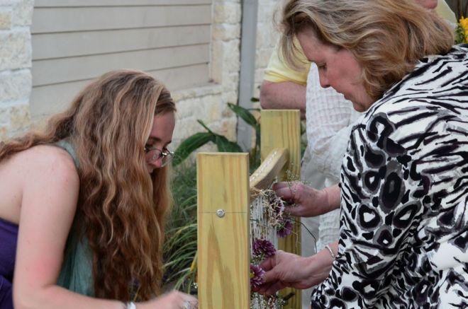 Weaving nature at The Parish School