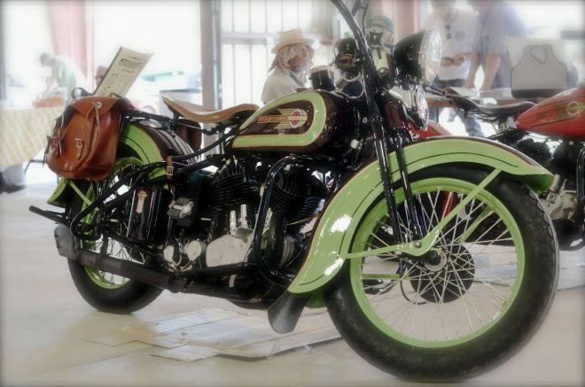 1930s Harley - Green
