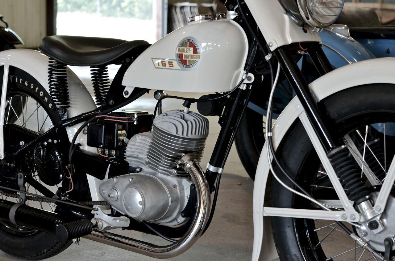 Harley Davidson Log: Harley-Davidson 165
