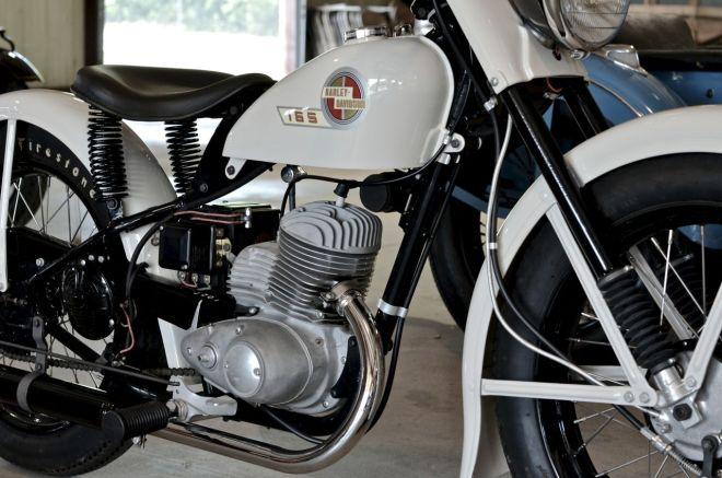 Harley-Davidson 165 - 1953