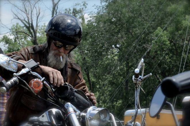 Old Harley Expert Mechanic on his kickstarter