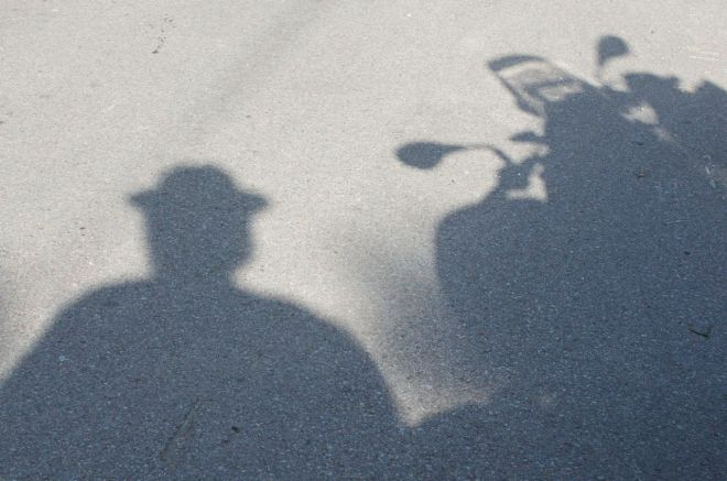 shadow-man-bike