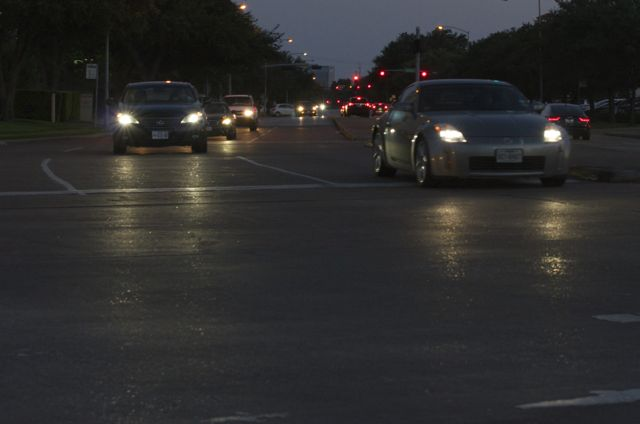 cars on Allen Parkway