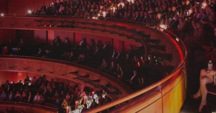 Tobin Center concert hall