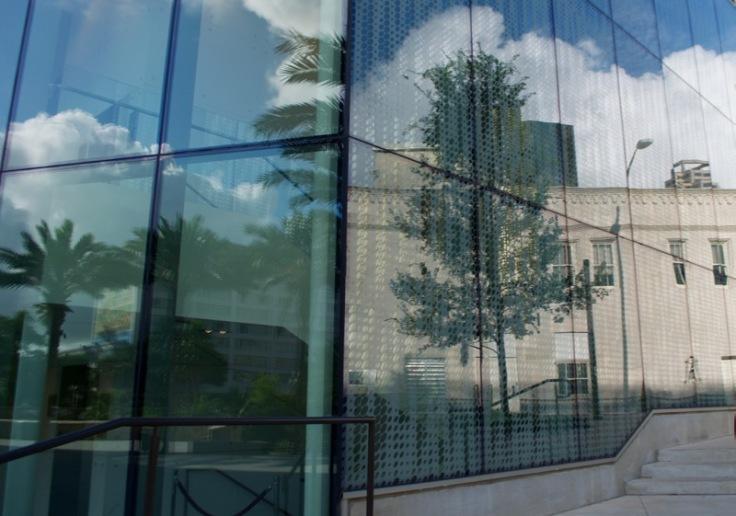 Tobin Center Reflection Wall