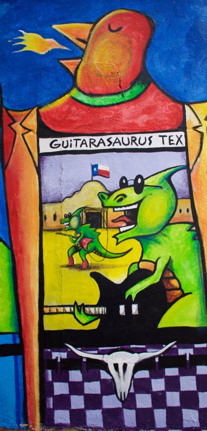 Guitarasaurus Tex