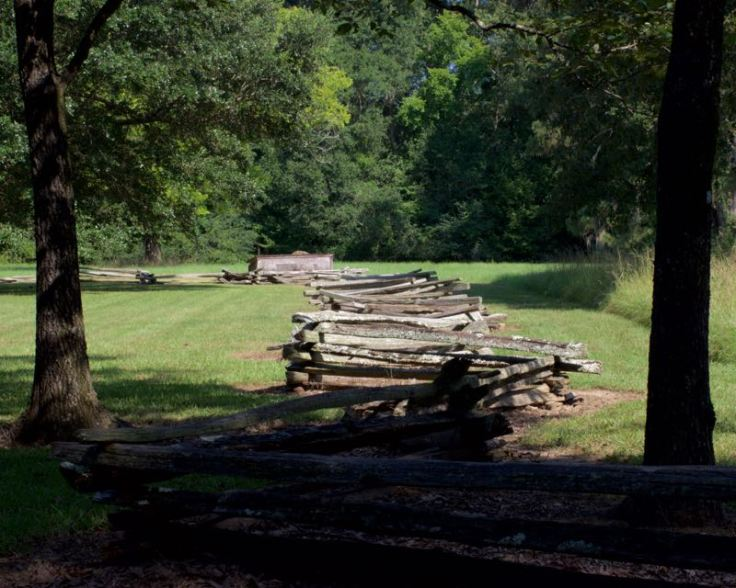 Fence - Historic Home Natchez Trace