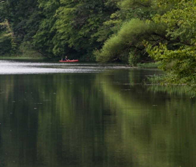 Fishin' on Greenbo Lake