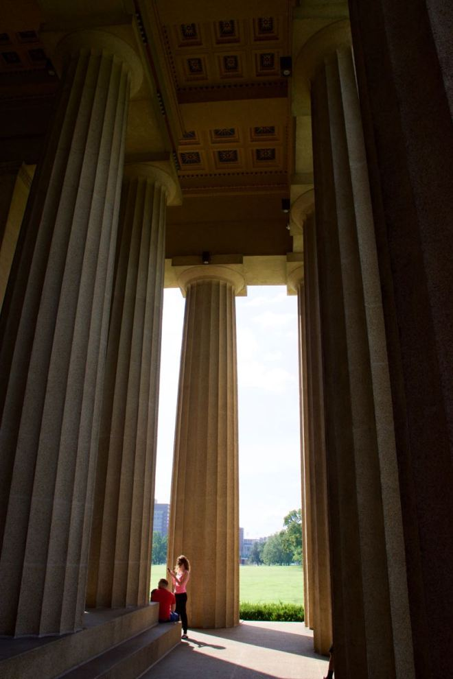 Parthenon - Back