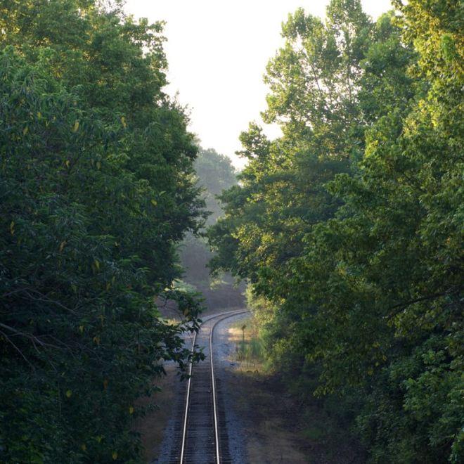 Railroad Through Natchez