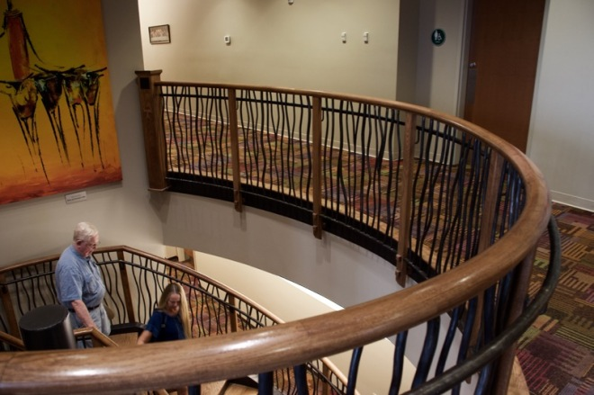Staircase at St Anthony of Padua