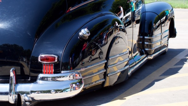 Old Chevy reflection