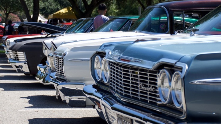 Row of Chevys